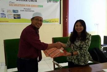 Tingkatkan SDM, Fakultas Kehutanan Jalin Kerjasama Dengan ESRI Indonesia