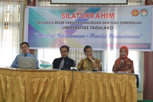 DWP FKIP Gelar Silaturrahim Rutin