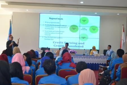 Jadi Pemateri One Asia Foundation, Prof Basir Cyio Pesan Mahasiswa Berperan dalam Masyarakat Asia