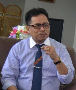 Rektor Untad, Prof Dr Ir H Muh Basir Cyio SE MS (Foto Taqyuddin Bakri/dok)