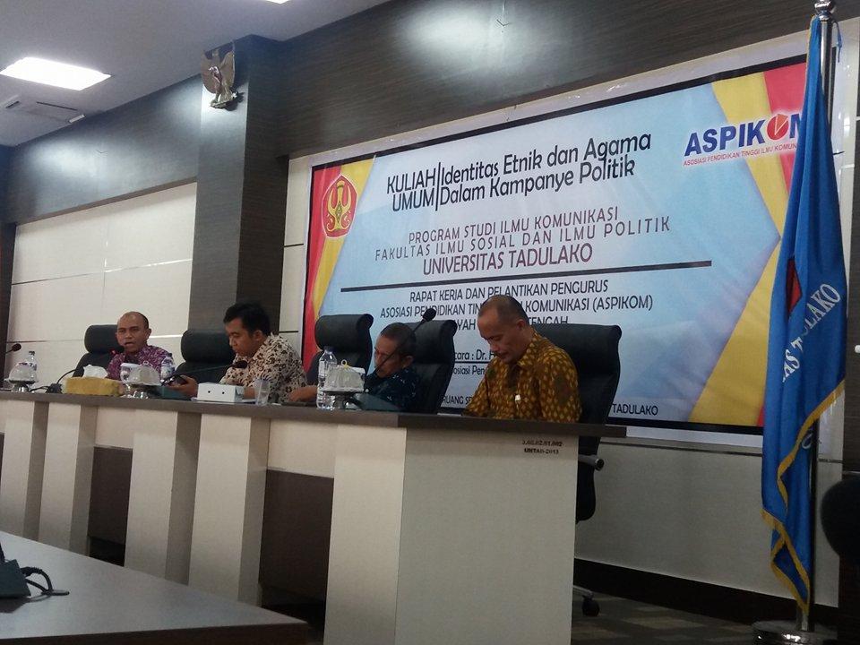 Prodi Ilmu Komunikasi Gelar Kuliah Umum tentang Identitas Etnik & Agama dalam Kampanye Politik