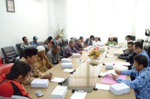 Silaturrahim Forum Masyarakat Kampus Sintuvu Maroso Untad dengan Rektor Untad (dok)