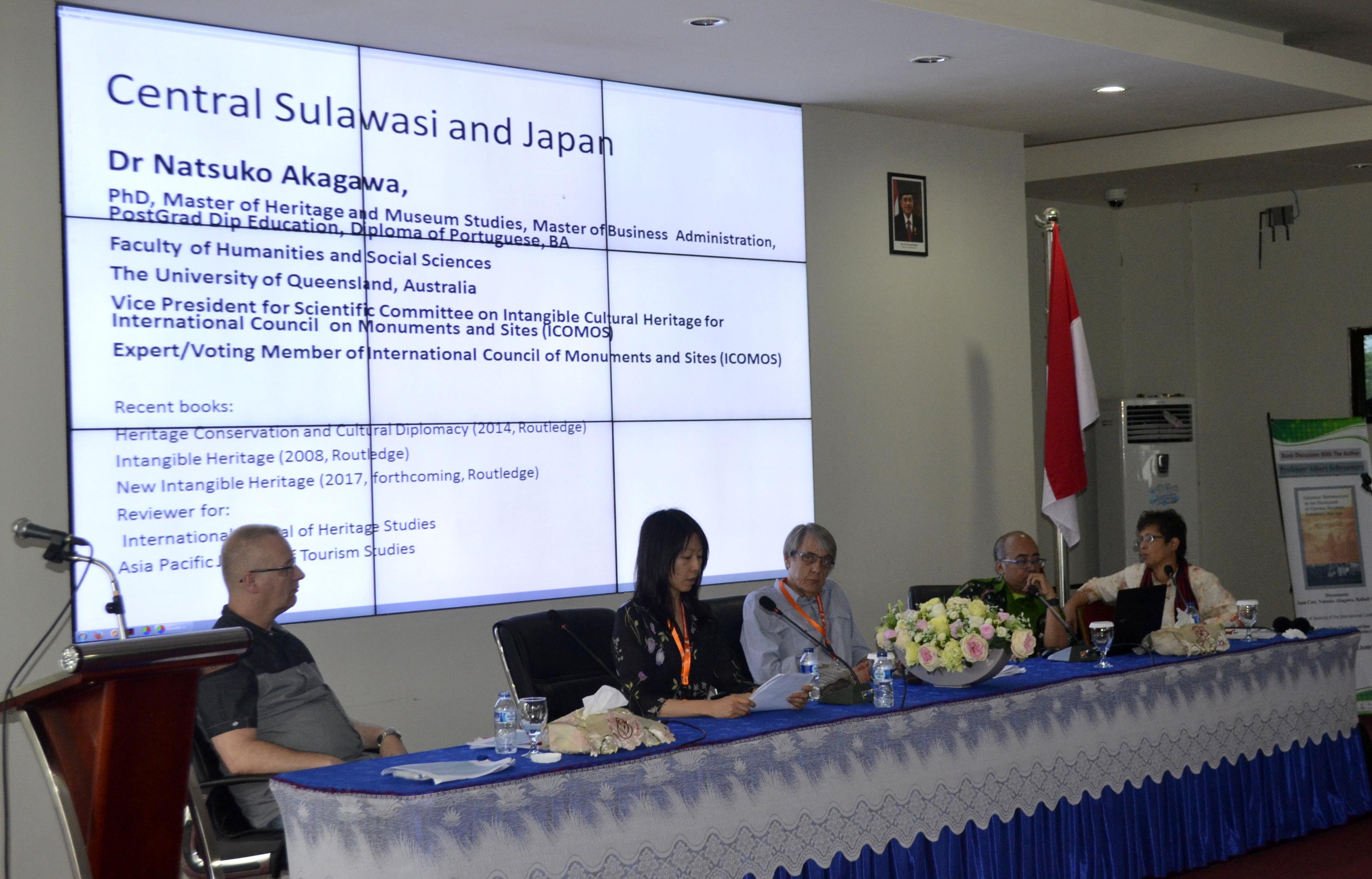 Sejumlah Pakar Sosial Asal Amerika, Kanada, Jepang & Australia Hadiri Konferensi Internasional Antropologi Untad