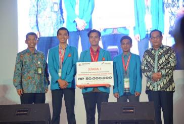 Ungguli 17 Finalis Perguruan Tinggi se Indonesia, Tim Sains Untad Berhasil Juarai Pertamina Olimpiade Sains 2016