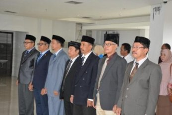 Rektor Lantik Pimpinan LPPMP dan Kukuhkan Pimpinan dan Anggota SPI