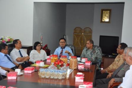 Rektor Untad Terima Kunjungan Rektor Universitas Musamus