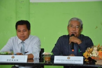 Unggul Telak, Dr Harifuddin Thahir Terpilih sebagai Dekan Fakultas Ekonomi
