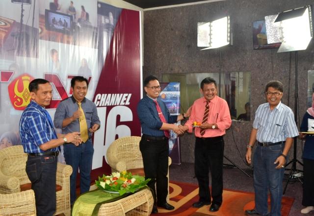 Universitas Tadulako Resmi Luncurkan Saluran Televisi Berbasis Edukasi