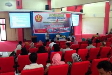 Menuju Akreditasi Unggul, LPPMP Untad Gelar Sosialisasi Peningkatan Akreditas Program Studi
