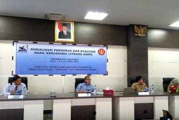 KEMENRISTEKDIKTI Sosialisasikan Perizinan dan Evaluasi Hasil Kerjasama Litbang Asing di Untad