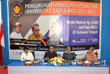 Talk Show Ikatan Alumni Tadulako Hadirkan Tokoh Inspiratif Untad