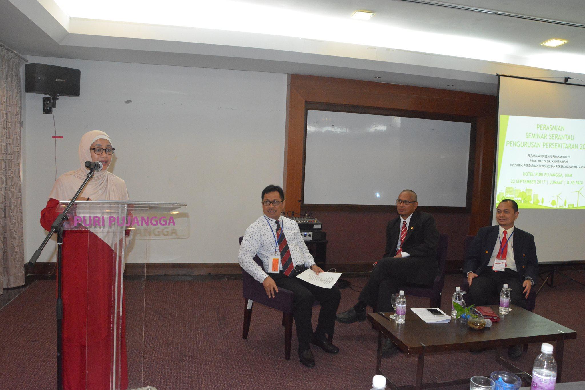 Seminar Serantau Pengurusan Persekitaran Sebagai Wujud Kolaborasi Negara Serumpun UKM dan Untad