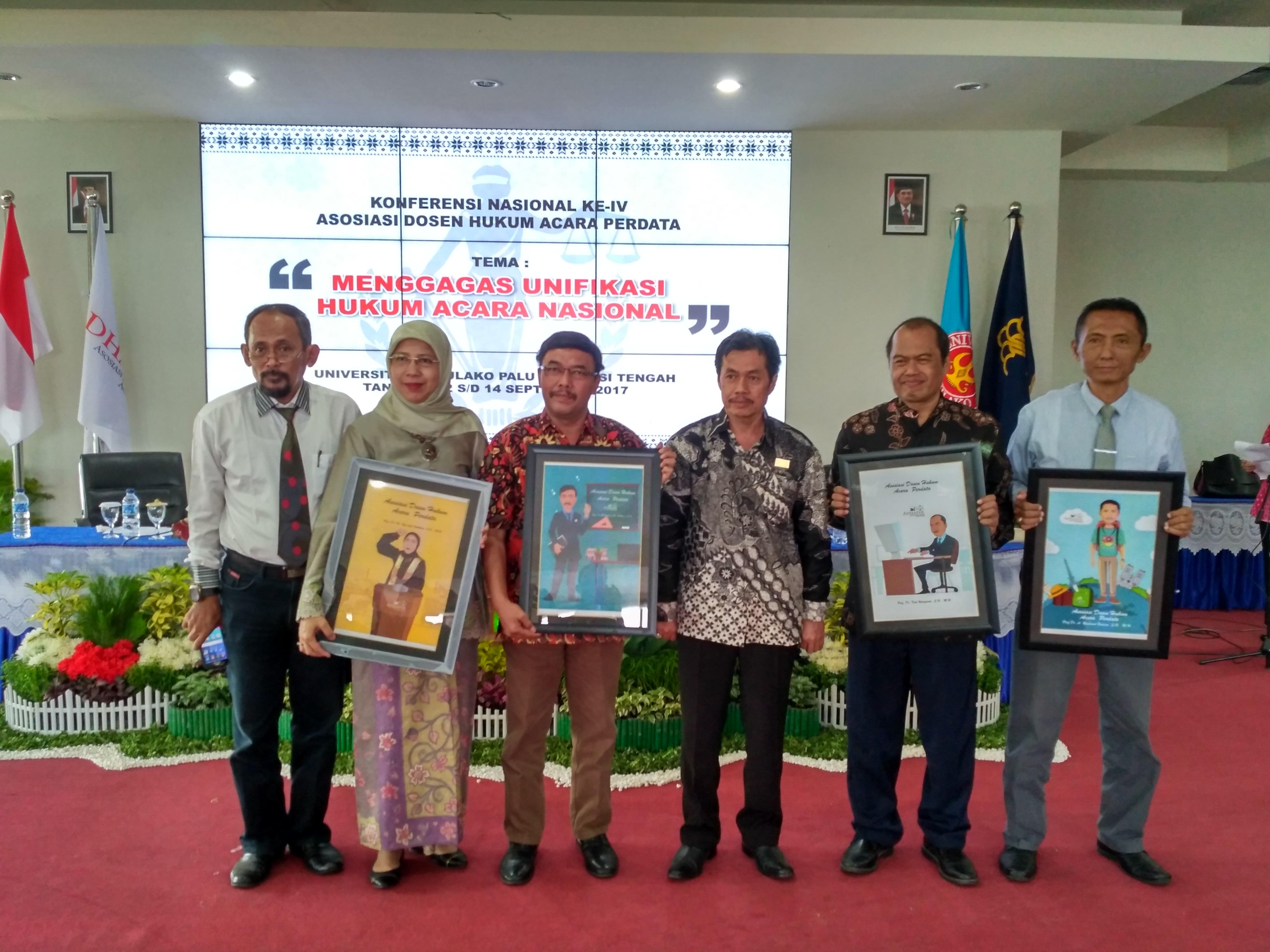 Asosiasi Dosen Hukum Acara Perdata Se Indonesia Selenggarakan Konferensi Nasional di Untad