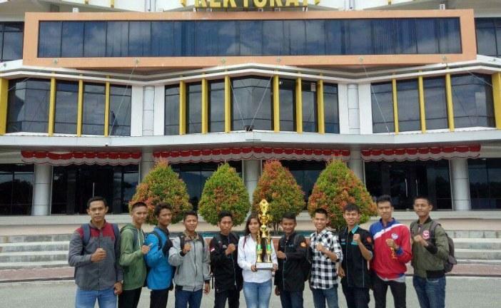 Tim Mahasiswa Untad Menangkan Kejuaraan Taekwondo IAIN Cup 2017 Se Sulawesi Tengah