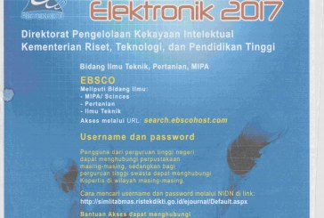 Akses Jurnal Elektronik 2017