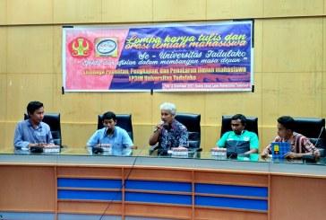 LP3IM Untad Selenggarakan Lomba Karya Tulis dan Orasi Ilmiah Se Universitas Tadulako