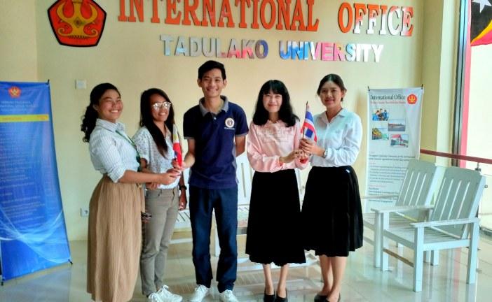 Mahasiswa Pertukaran Asal Filipina Dan Thailand Berbagi Kesannya Selama Di Untad & Kota Palu