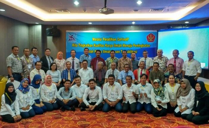 Rektor Untad Inisiasi Pelatihan Publikasi Jurnal Internasional Kepada Dosen BLU & Non PNS