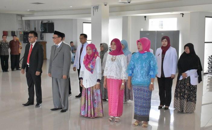 Rektor Untad Lantik Wakil Dekan Fakultas Kehutanan Serta Pejabat Pengelola RS UNTAD Periode 2018 -2022