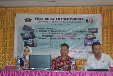 International Office Untad Sosialisasikan Pendidikan Tinggi, Budaya & Beasiswa Perancis Di Sekolah MAN 2 Model Kota Palu