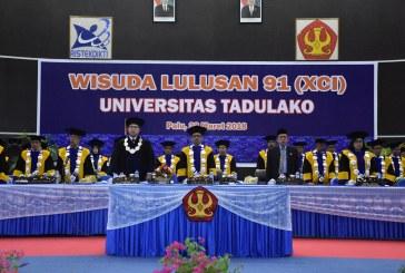 Rektor IPB Hadiri Wisuda ke-91 Universitas Tadulako