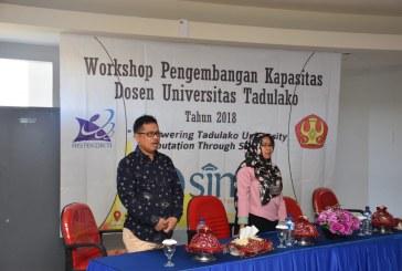 Tingkatkan Publikasi International, Untad Gelar Workshop Pengembangan Kapasitas Dosen