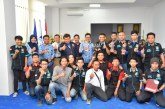 Tim Robotech Untad Raih Empat Penghargaan Sekaligus Di Kontes Robot Indonesia Tingkat Regional II