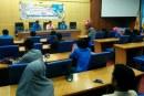 Penataran Lembaga Pers Mahasiswa Untad Bahas Tentang Pengokohan Tiang Organisasi