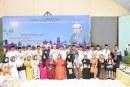 Rektor Untad Rayakan Idul Fitri & Halal Bi Halal Bersama Keluarga Besar Universitas Tadulako