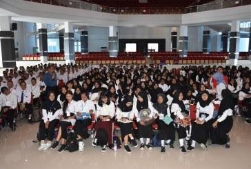 Usai Ikuti PKKMB Tingkat Universitas, Mahasiswa Baru Untad Angkatan 2018 Lanjut Ikuti PKKMB Tingkat Fakultas