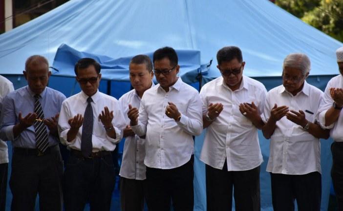 Mulai Perkuliahan Perdana Face to Face, Rektor Gelar Doa Bersama Seluruh Civitas Untad