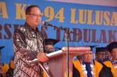 Menristekdikti Hadiri Wisuda Ke 94 Universitas Tadulako