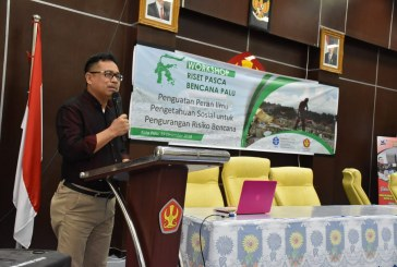 LIPI Bersama Untad Gelar Workshop Forum Ilmu Sosial – Riset Pasca Bencana PaSiGala