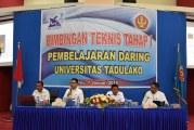 Rektor Perkenalkan Pembelajaran Daring Kepada Para Akademisi Untad