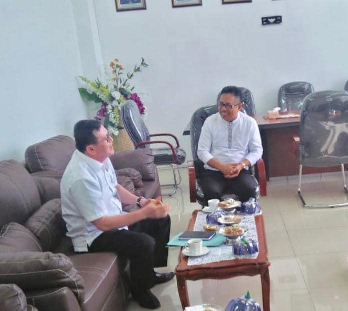 Silaturrahim dengan Rektor UNTAD, Kajati Sulteng: Pak Rektor Sosok yang Humanis