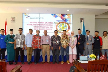International Office Untad Sosialisasikan Program Beasiswa & Pertukaran Pemuda Antar Negara
