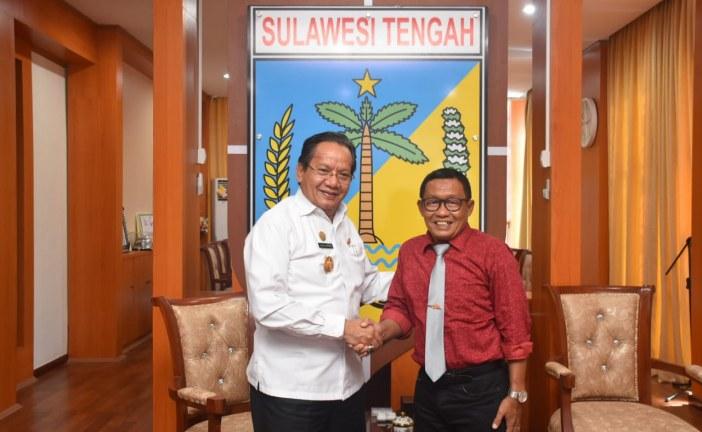Rektor Untad Lakukan Kunjungan Silaturahmi Ke Gubernur Sulawesi Tengah