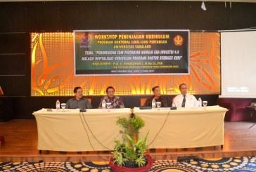 Prodi Doktoral Ilmu Pertanian Untad Gelar Workshop Peninjauan Kurikulum