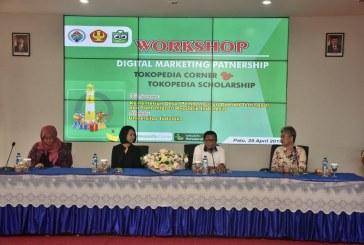 Dukung Semangat Entrepreneurship Mahasiswa Untad, Tokopedia Gelar Workshop Digital Marketing