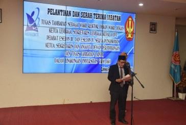 Rektor Lantik Wakil Rektor, Ketua & Sekretaris Lembaga Serta Pejabat Struktural Eselon III dan IV
