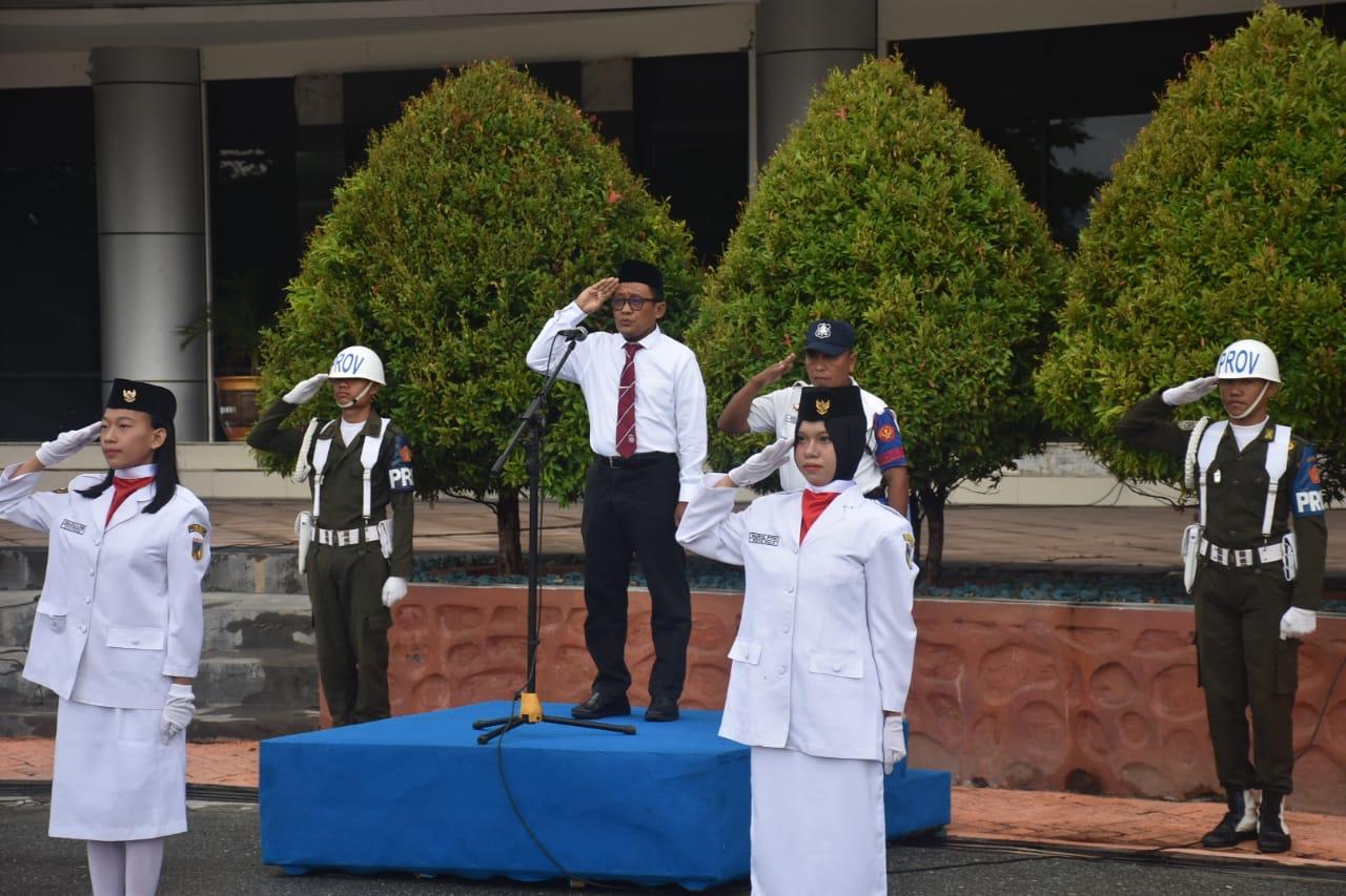 Universitas Tadulako Gelar Upacara Peringatan Hari Pendidikan Nasional Tahun 2019