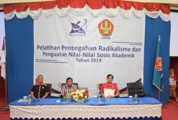 Pelatihan Pusbang Depsa Angkatan ke 6 Hadirkan Wadir Intelkam Polda Sulteng Sebagai Narasumber