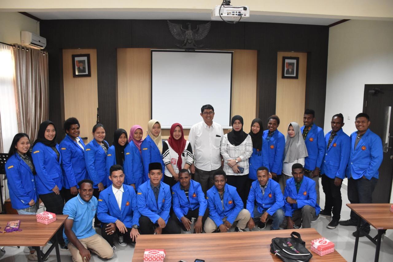 Untad Sambut Hangat 39 Mahasiswa Baru Program ADiK Asal Daerah 3T