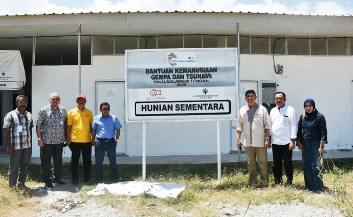 Kementerian PUPR Bersama Untad Siapkan Huntara Untuk Mahasiswa Terdampak Bencana