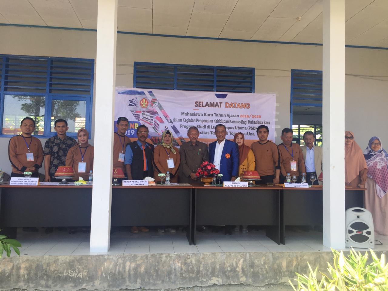 Kampus PSDKU Untad Tojo Una-Una Gelar Pengenalan Kehidupan Kampus Bagi Mahasiswa Baru (PKKMB) Angkatan 2019