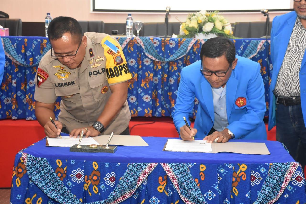 Untad & Polda Sulawesi Tengah Sepakat Tingkatkan Kerjasama Dalam Memberantas Radikalisme