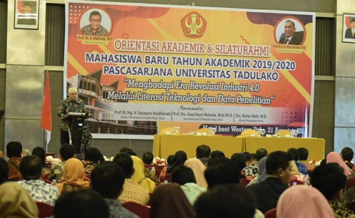 Pascasarjana Untad Gelar Orientasi Akademik & Pembukaan Masa Perkuliahan Mahasiswa Baru Angkatan 2019/2020