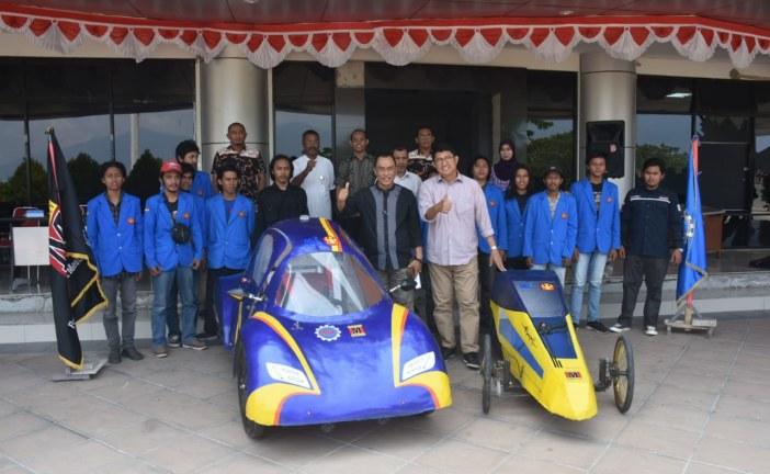 Mobil Hemat Energi Karya Mahasiswa Untad Siap Berkompetisi Tingkat Nasional Di Malang