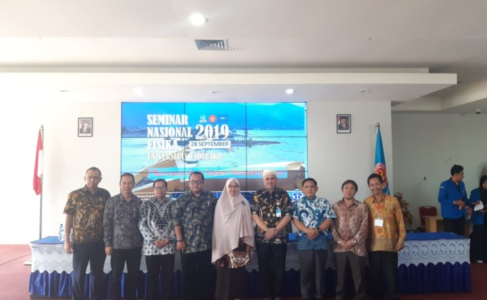 Seminar Nasional Fisika 2019 Untad Bahas Bencana Alam Dalam Prespektif Sains