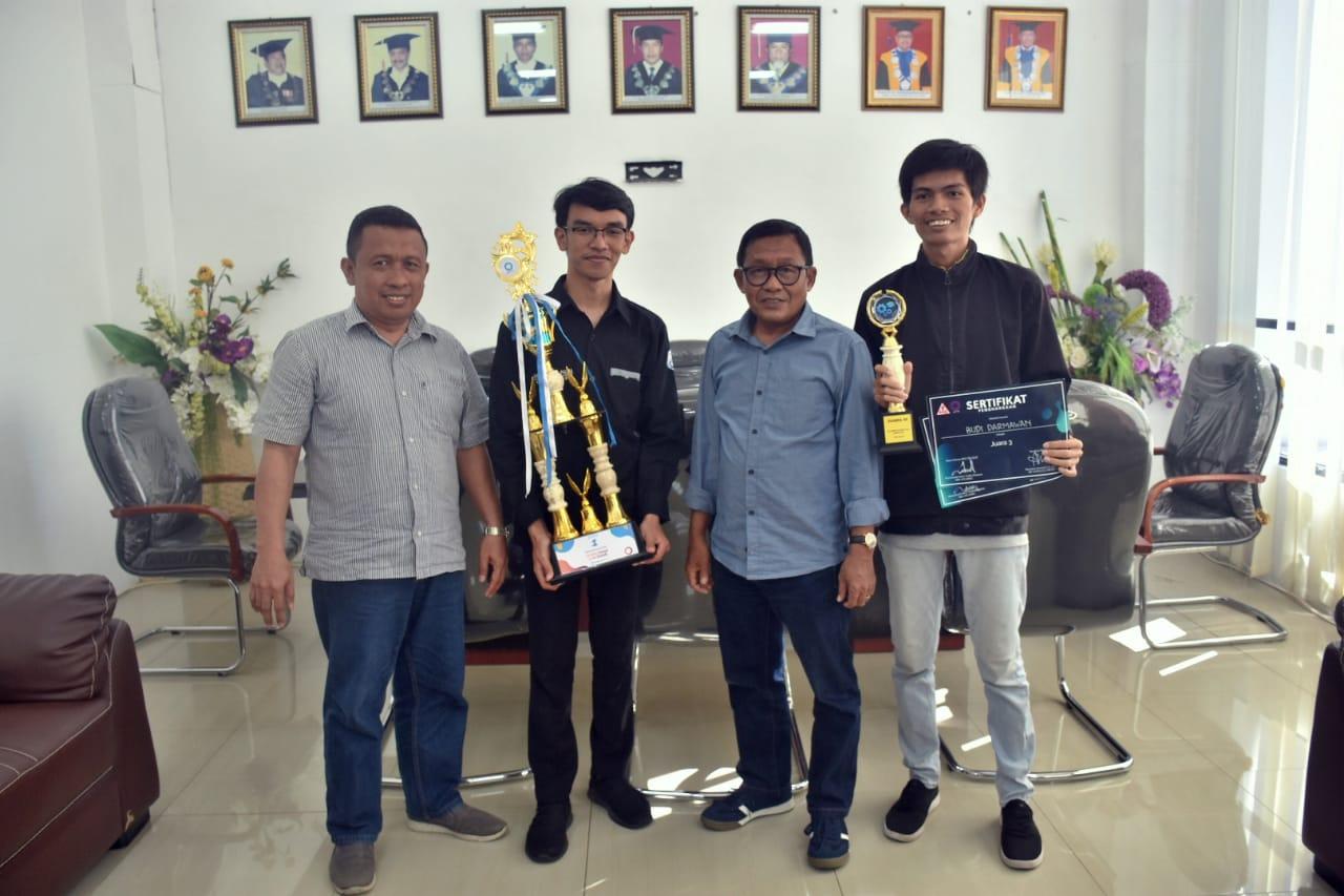 Kembali Ukir Prestasi, Team Untad Raih Juara I Lomba Karya Tulis Ilmiah 2019 Tingkat Nasional Di Universitas Indonesia